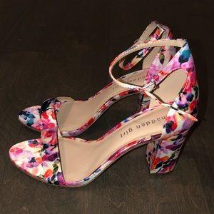 Madden Girl Beela floral heels